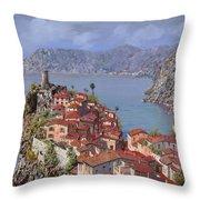 Vernazza-cinque Terre Throw Pillow