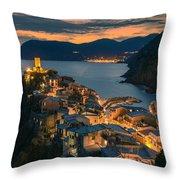 Vernazza Throw Pillow