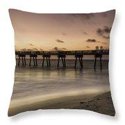 Vero Beach Sunrise Throw Pillow