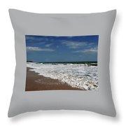 Vero Beach Surf Throw Pillow