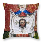 Veronicas Veil Throw Pillow