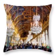 Versaille Assembly Throw Pillow