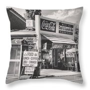 Guildford Wa. Deli And Lunch Bar  Throw Pillow
