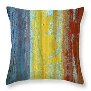 Vertical Interfusion II Throw Pillow