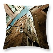 Vertical Sky Throw Pillow