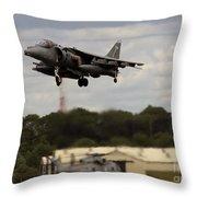 Vertical Take-off Throw Pillow