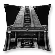 Verticality Throw Pillow