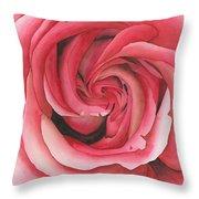 Vertigo Rose Throw Pillow by Ken Powers