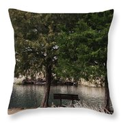 Very Inviting Throw Pillow