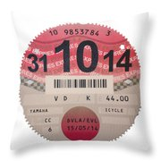 Very Taxing  Throw Pillow