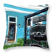 Truly Unruli Throw Pillow