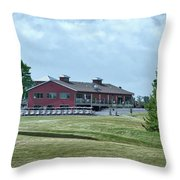 Vesper Hills Golf Club Tully New York 02 Throw Pillow