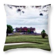 Vesper Hills Golf Club Tully New York 03 Throw Pillow