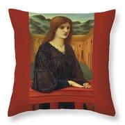 Vespertina Quies Throw Pillow