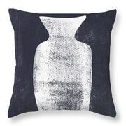 Vessel 2- Art By Linda Woods Throw Pillow