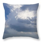 Vessels In The Sky Throw Pillow