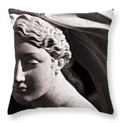 Vestal Bride Throw Pillow