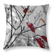 Vestiges Throw Pillow