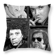 Veteran Musicians Throw Pillow