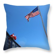 Veteran Tribute Throw Pillow