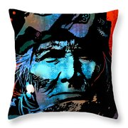 Veteran Warrior Throw Pillow