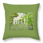 Veteran's Park Throw Pillow