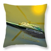 Vh Lee Flying In The Sun Throw Pillow