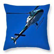 Vh Lee Going Up  Throw Pillow