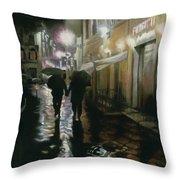 Via Della Spada - Firenze, Italia Throw Pillow