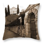 Via Fosse Throw Pillow