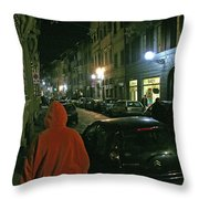 Via San Gallo Throw Pillow