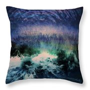 Vibes Of Summer - Series 9 Throw Pillow