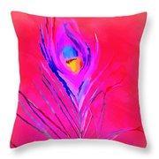 Vibrant Life Throw Pillow