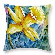 Vibrant Spring Throw Pillow
