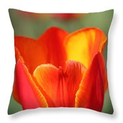 Vibrantly Yours Throw Pillow