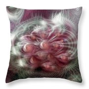 Vibrations Throw Pillow