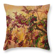 Viburnum Throw Pillow