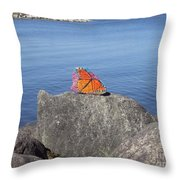 Viceroy Red List Endangered Series Throw Pillow