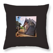 Bricks And Concrete Throw Pillow