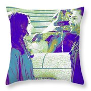 Vicky Cristina Barcelona Throw Pillow