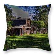 Vic's Barn II Throw Pillow