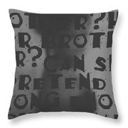 Victimless Throw Pillow