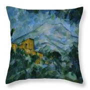 Victoire And Chateau Noir Throw Pillow