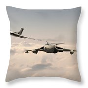 Victor And Vulcan Throw Pillow