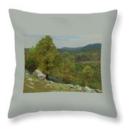 Victor Coleman Anderson  1882  1937  Rocky Uplands 1921 Throw Pillow