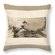 Victor Hugo   Landscape Throw Pillow