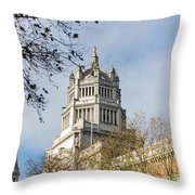Victoria And Albert Museum London Throw Pillow