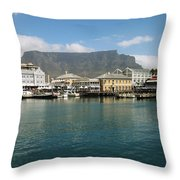 Victoria And Alfred Waterfront Throw Pillow
