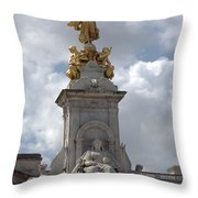 Victoria Memorial Throw Pillow