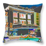 Victoria Theater 125th St Nyc Throw Pillow